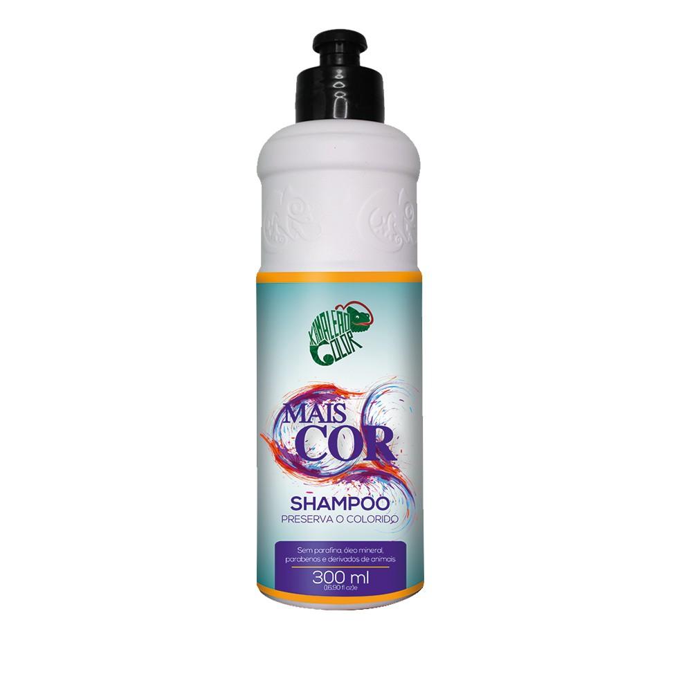 Kamaleão Shampoo Mais Cor 300ml