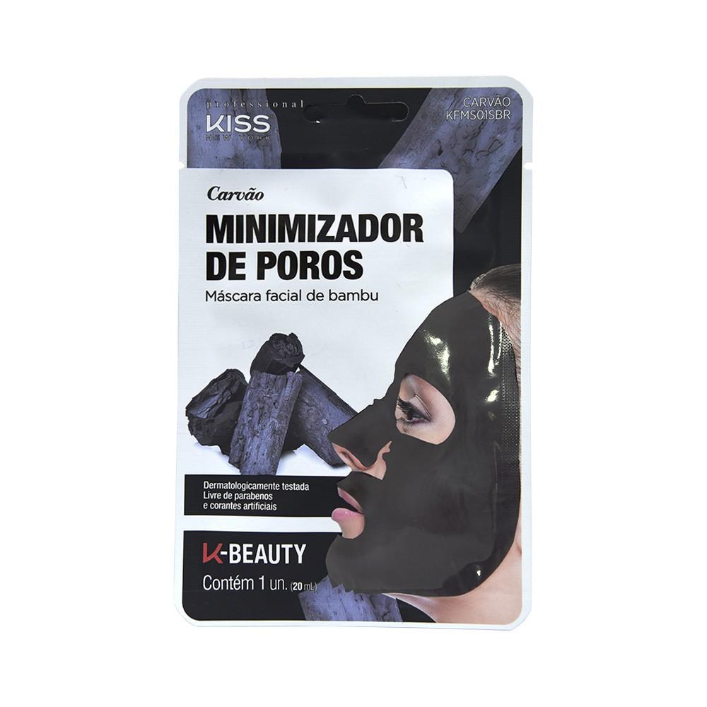 Kiss New York Máscara Facial de Bambu Carvão 20ml