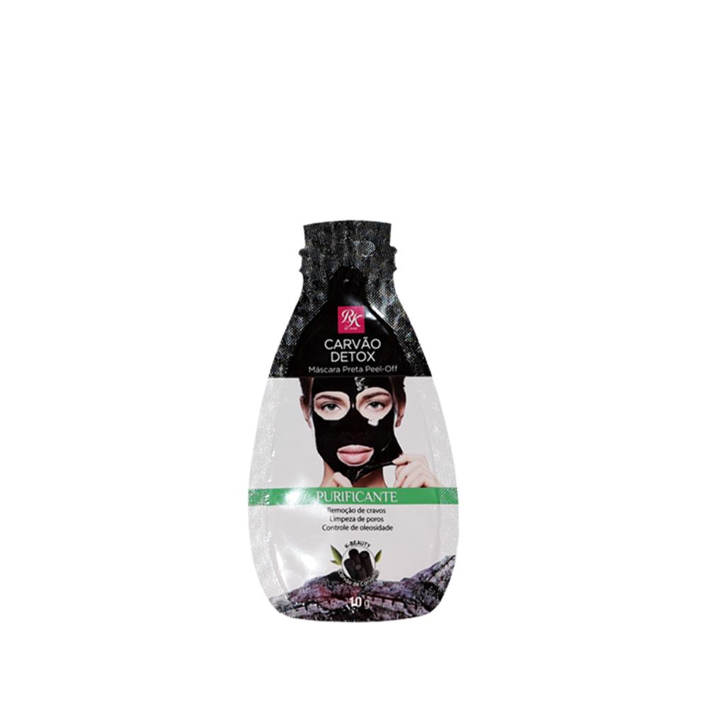 Kiss New York Máscara Preta Peel -Off Carvão Detox Purificante 10g