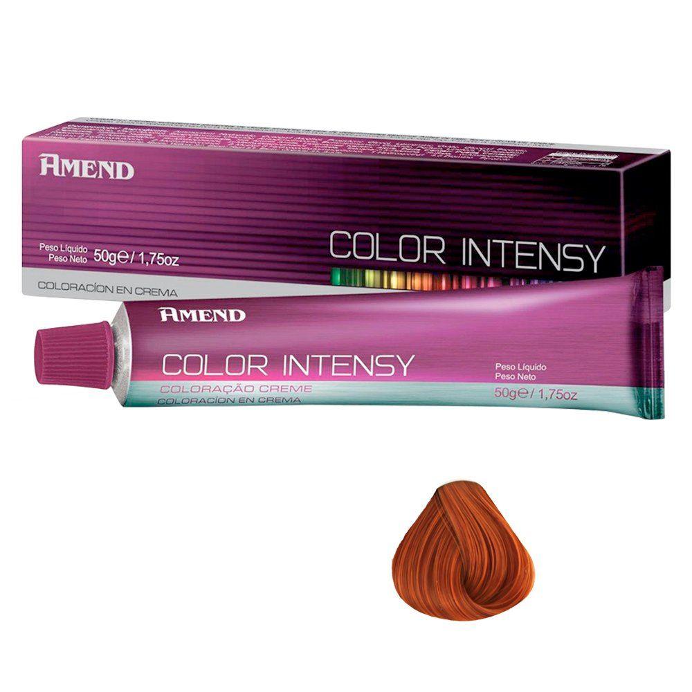 Kit 3 Produtos Amend Color Intensy Coloração 7.43, Mix 0.43 e OX 20Vol