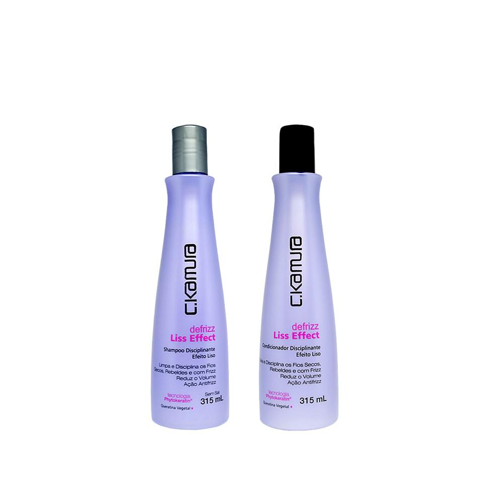 Kit C.Kamura Liss Effect Shampoo e Condicionador