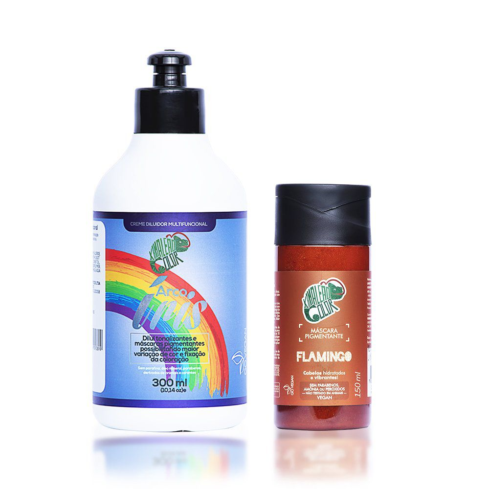 Kit Kamaleão Color - Flamingo e Creme Diluidor 300ml