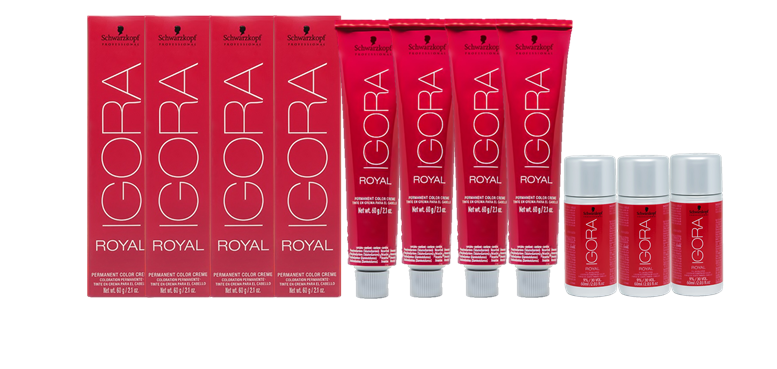 Kit Igora Royal 9.7 e Água Oxigenada 30vol