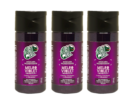 Kit Kamaleão Color 3 Melro Violet 150ml