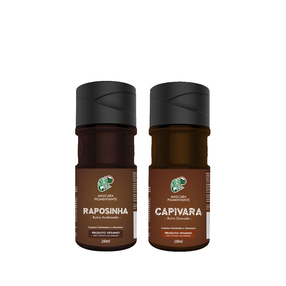 Kit Kamaleão Color - Raposinha e Capivara 150 ml