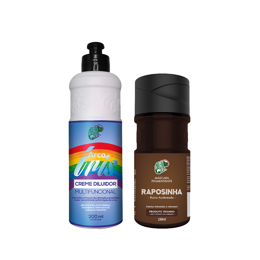 Kit Kamaleão Color - Raposinha e Creme Diluidor 300ml