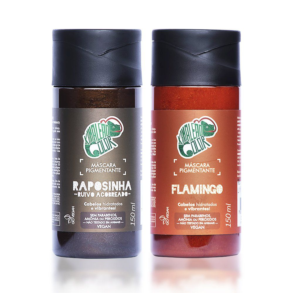 Kit Kamaleão Color Raposinha E Flamingo – 150 ml Cada