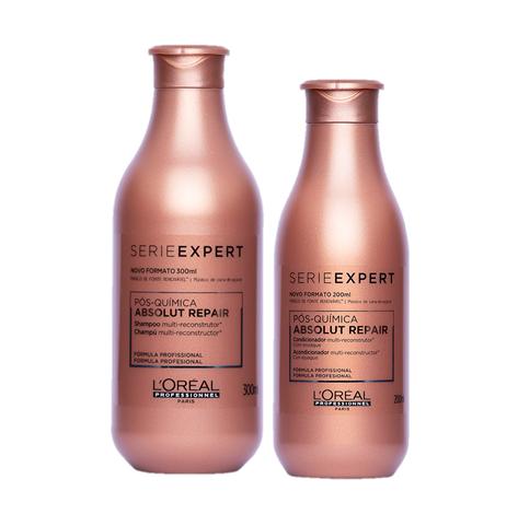 Kit Loreal Shampoo e Condicionador Pós Química