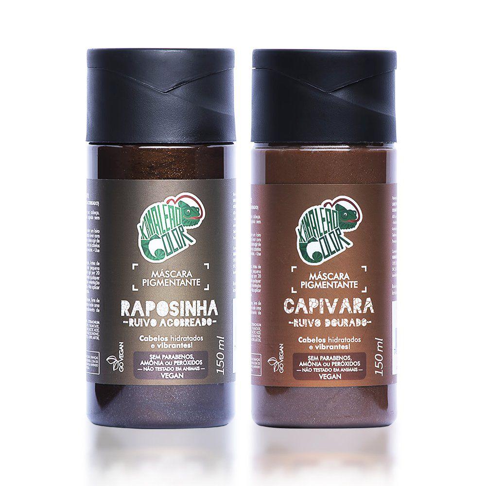 Kit Kamaleão Color - Raposinha e Capivara