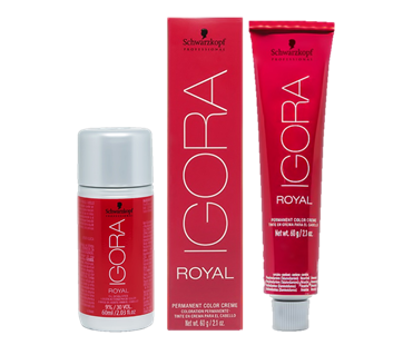Kit Schwarzkopf Igora Royal HD 8.77 + Água Oxigenada 30vol