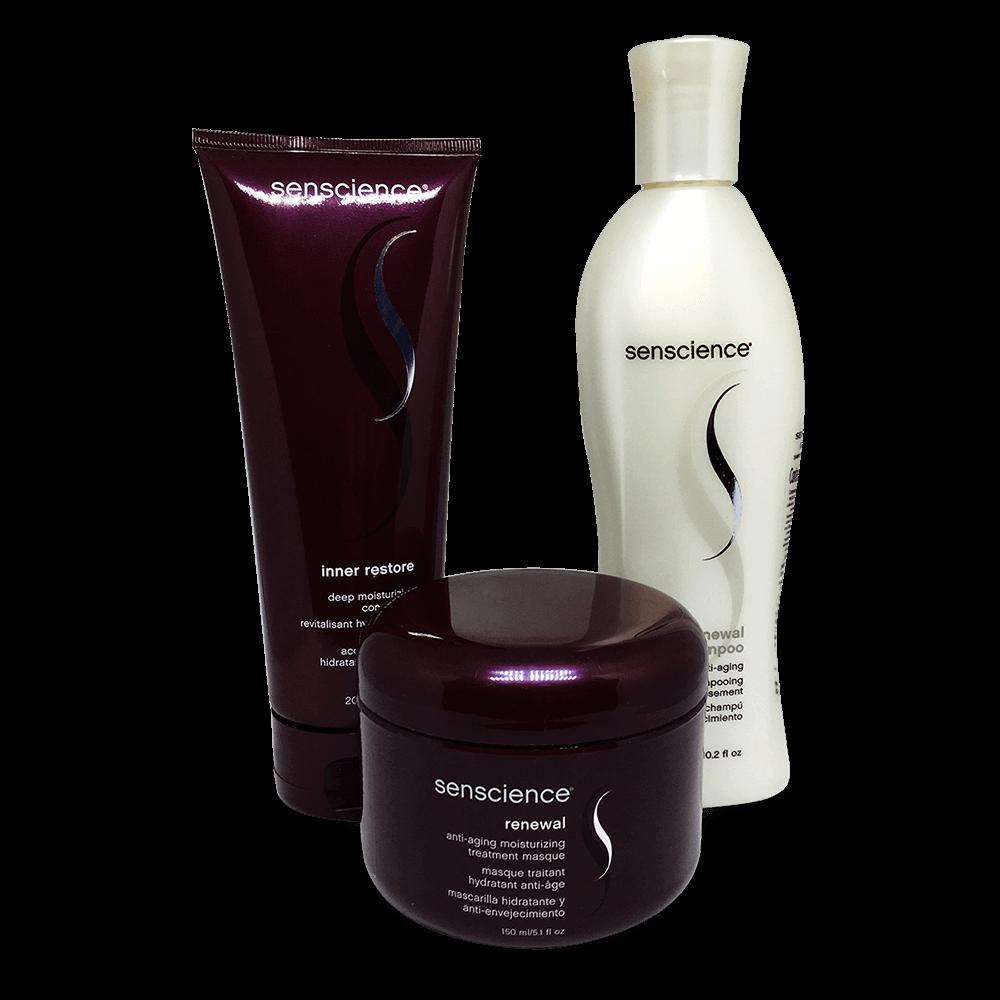 Kit Senscience - Shampoo, Condicionador e Máscara