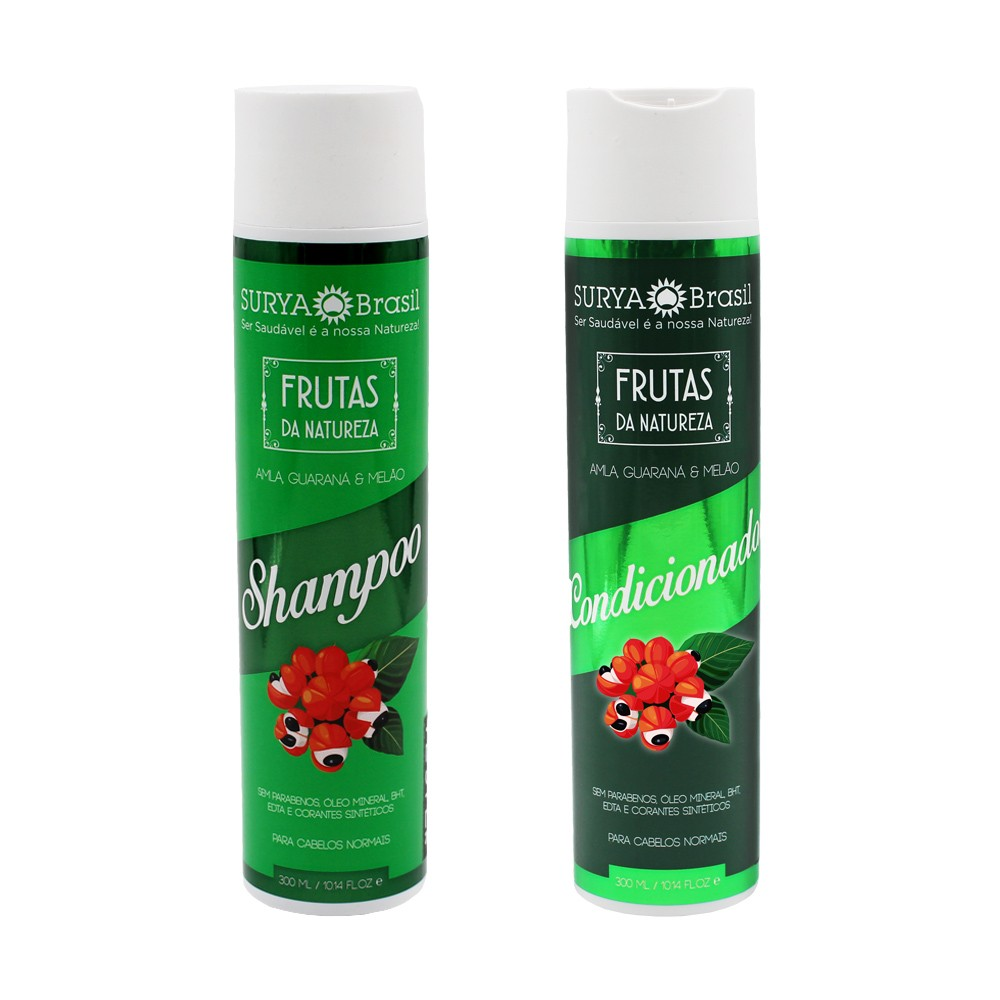 Kit Surya Brasil Amla Guaraná e Melão - Shampoo e Condicionador
