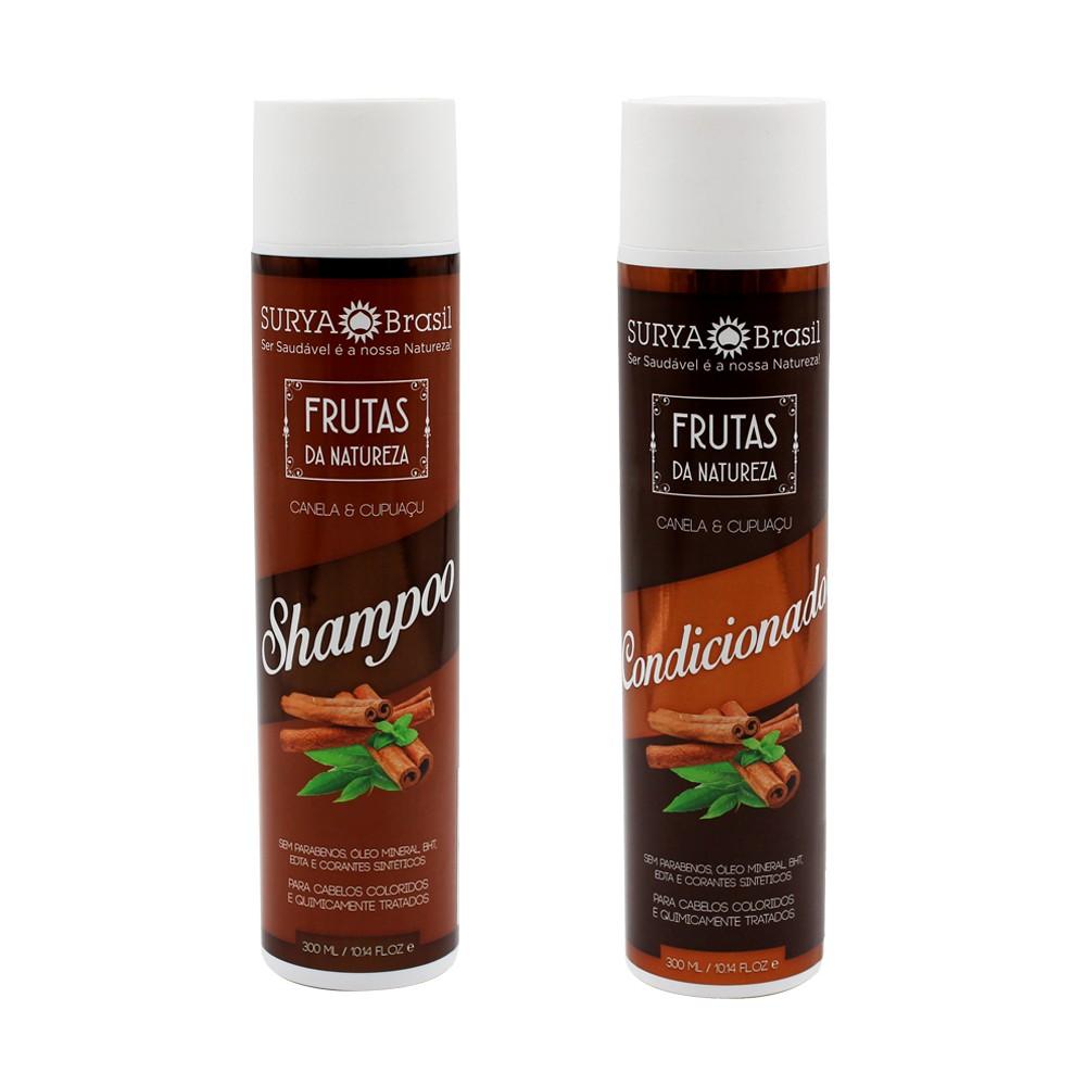 Kit Surya Brasil Canela e Cupuaçu - Shampoo e Condicionador