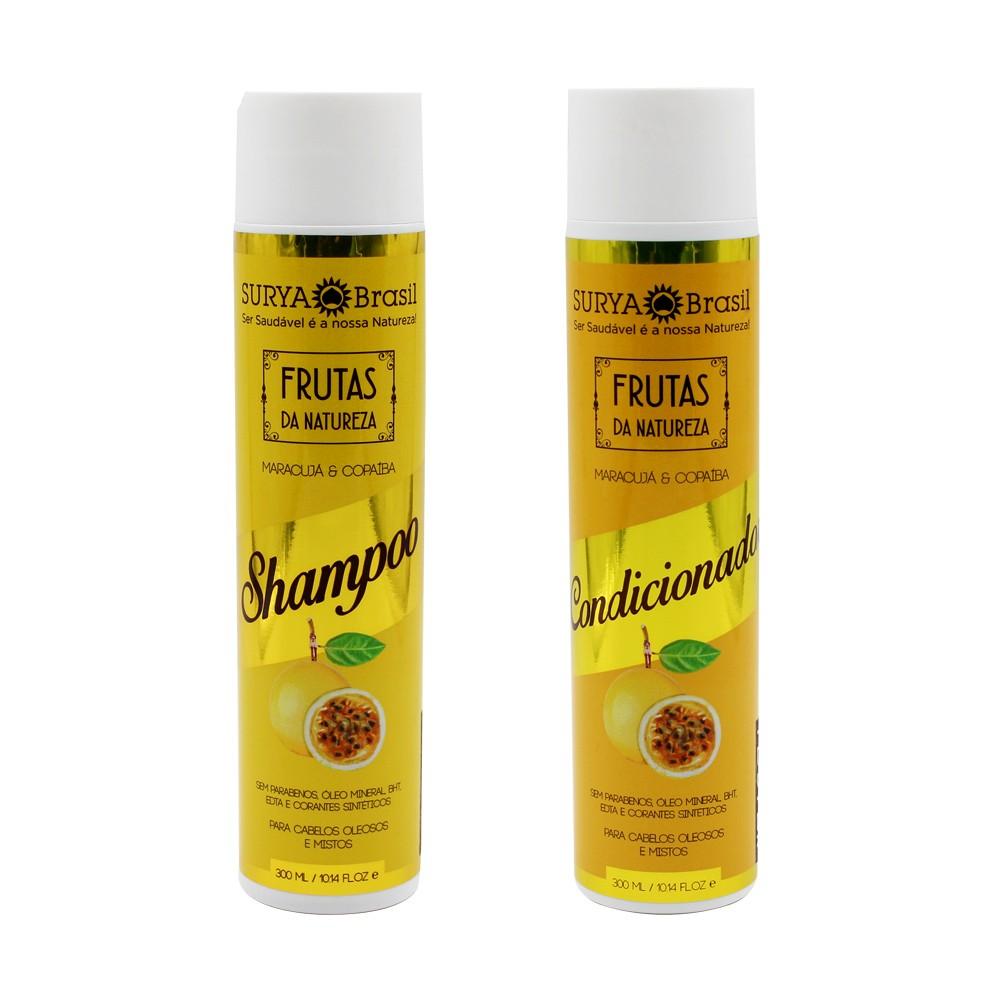 Kit Surya Brasil Maracujá e Copaíba - Shampoo e Condicionador