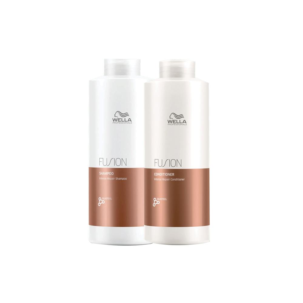 Kit Wella Fusion ( Shampoo e Condicionador)