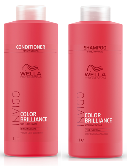 Kit Wella Invigo Color Brilliance - Shampoo e Condicionador