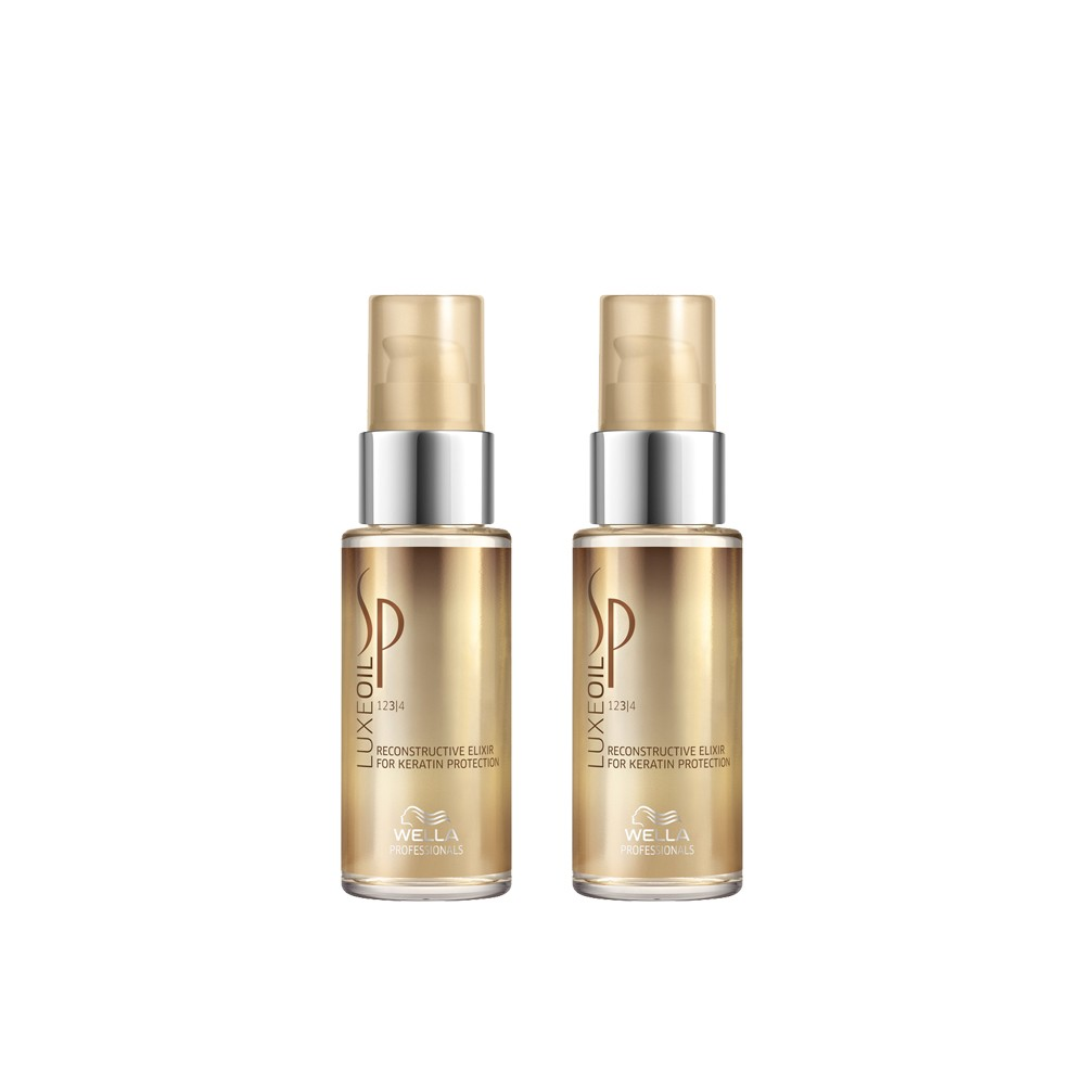 Kit Wella Oil Elixir Luxe 30ml - 02 Unidades