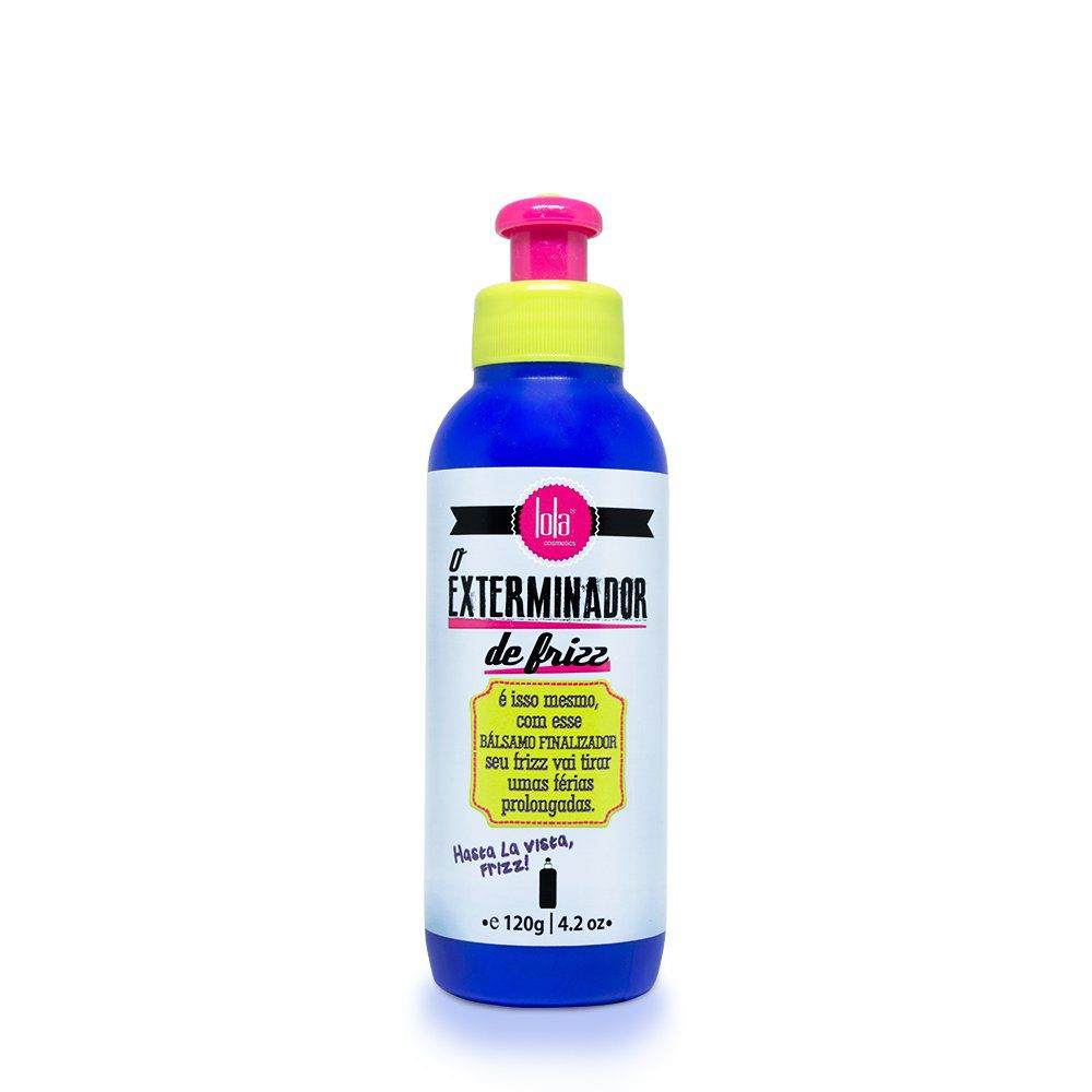 Lola Leave-In O Exterminador de Frizz - 120g
