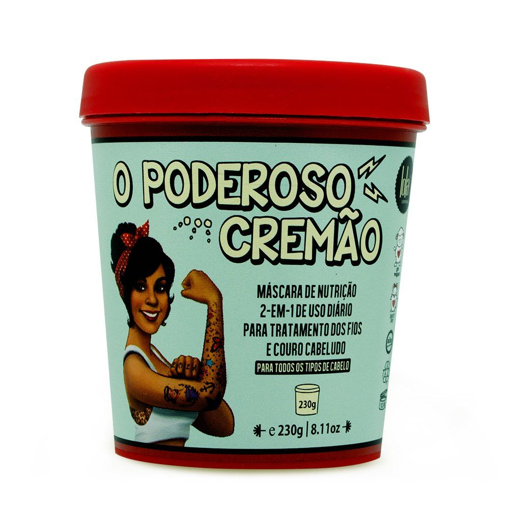 Lola Mascara de Nutricao O Poderoso Cremao - 230g