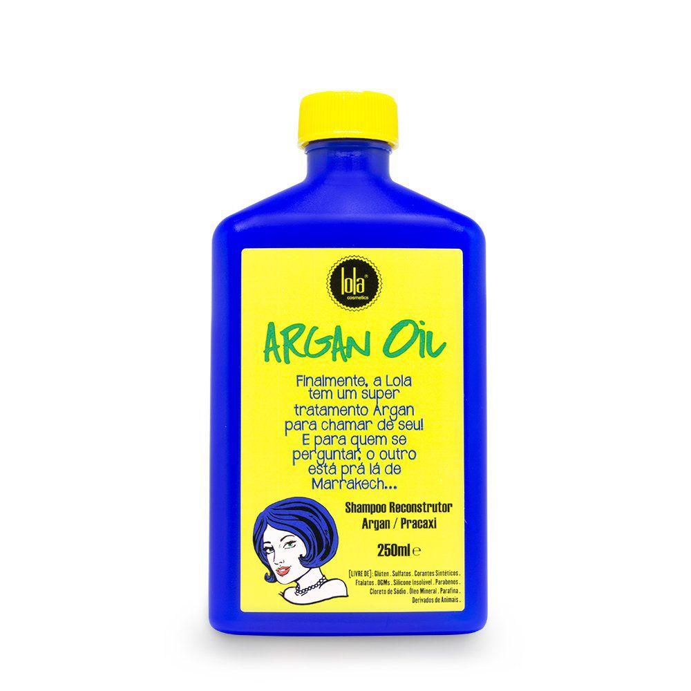 Lola Shampoo Reconstrutor Argan Oil Pracaxi - 250ml