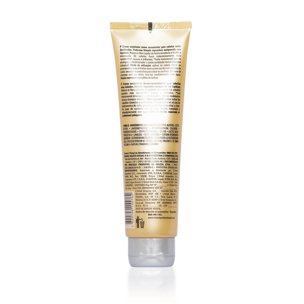 Loreal Creme Modelador Cortex Lipidium Absolut Repair - 150ml