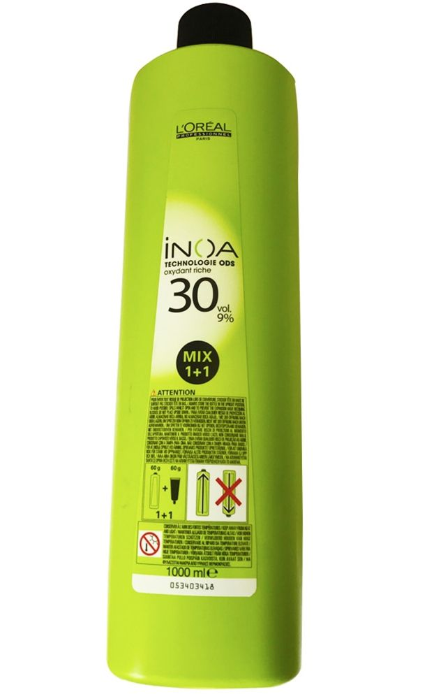 Loreal Inoar Hair Água Oxigenada 30vol 9% 1000ml