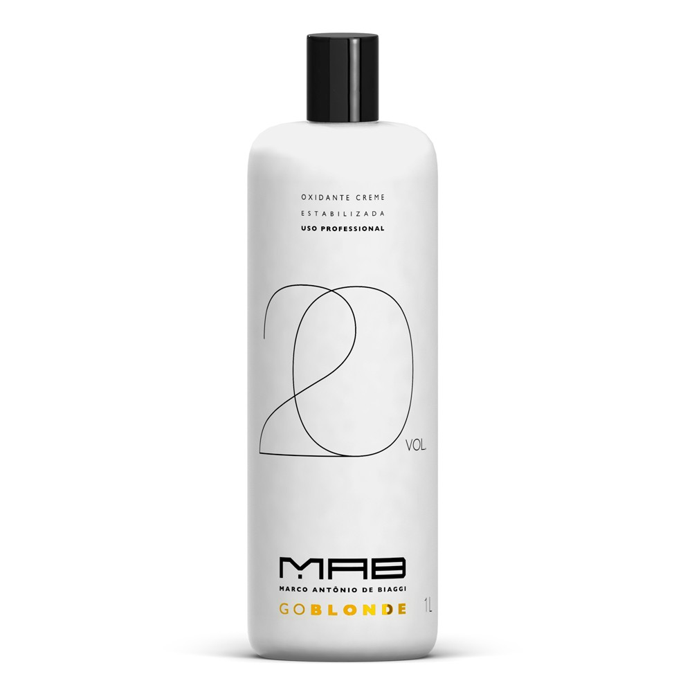MAB Água Oxigenada Go Blonde 20vol 900ml