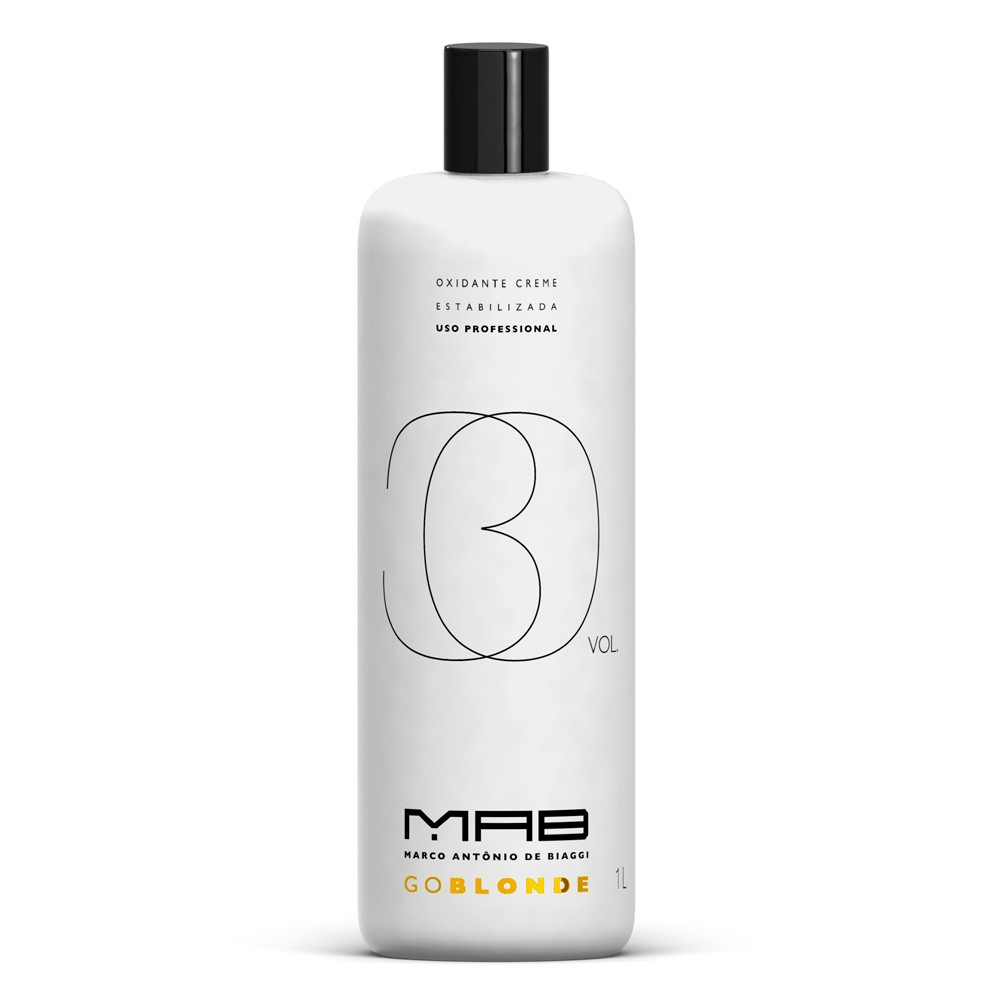 MAB Água Oxigenada Go Blonde 30vol 900ml