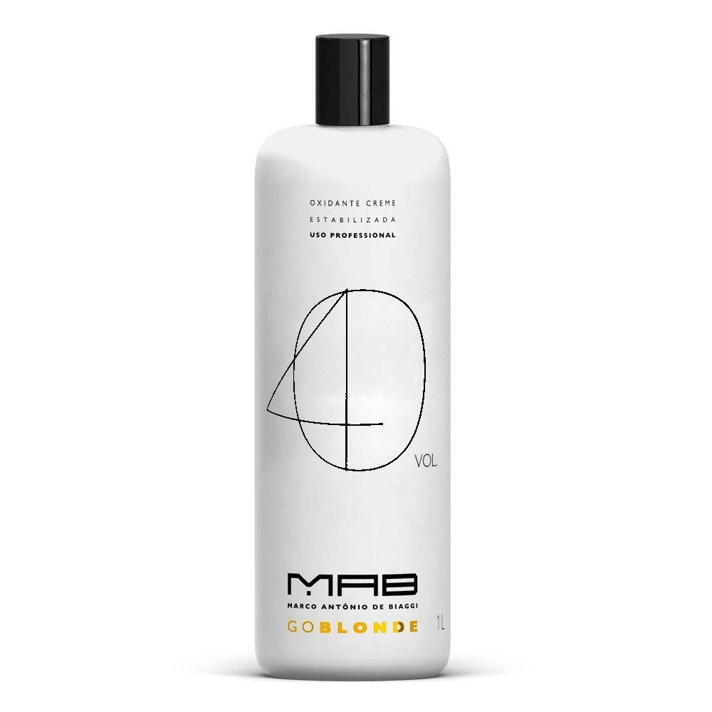 MAB Água Oxigenada Go Blonde 40vol 900ml