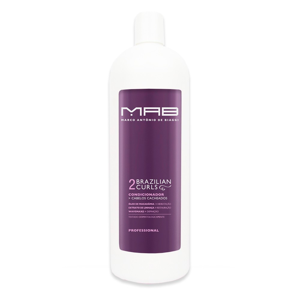 MAB Condicionador Brazilian Curls 1000ml