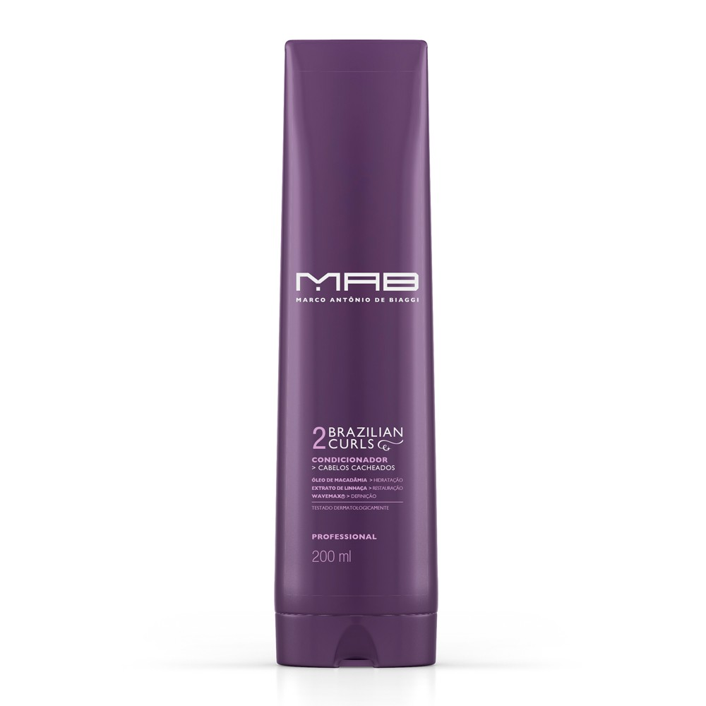 MAB Condicionador Brazilian Curls 200ml