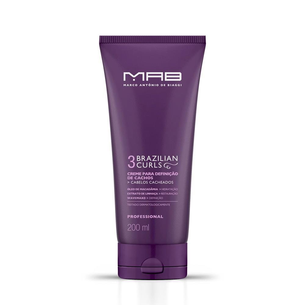 MAB Creme Finalizador Brazilian Curls 200ml