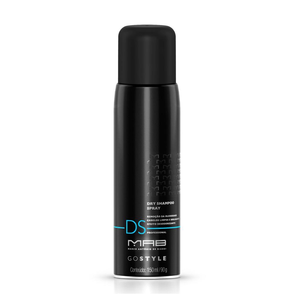 MAB Finalizador Dry Shampoo Spray Go Style 150ml