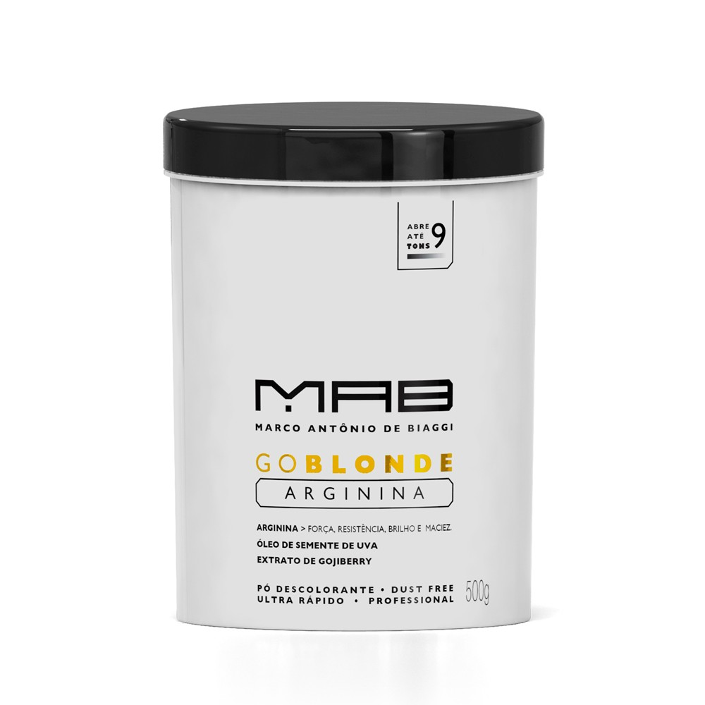 MAB Pó Descolorante Go Blonde 500gr