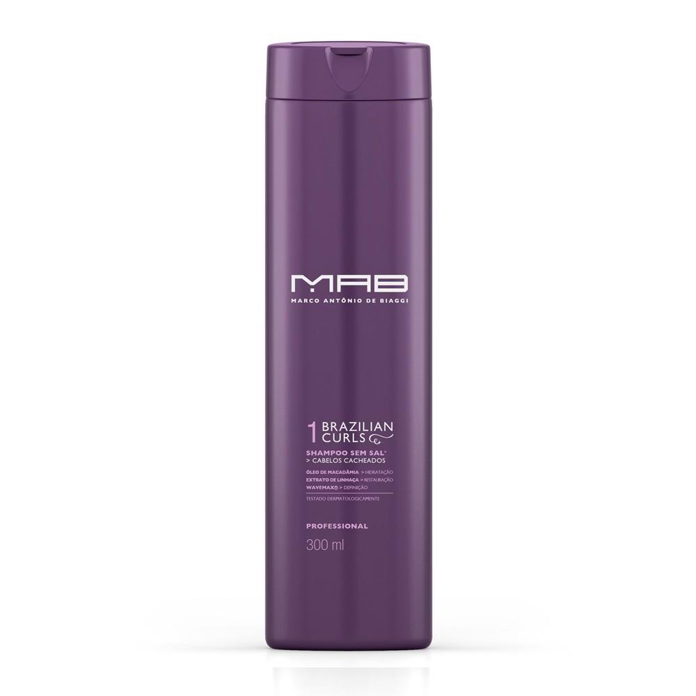 MAB Shampoo Brazilian Curls 1000ml
