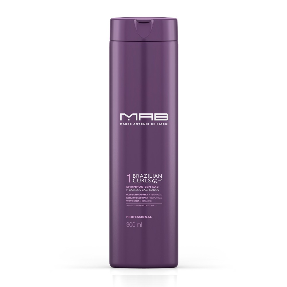 MAB Shampoo Brazilian Curls 300ml