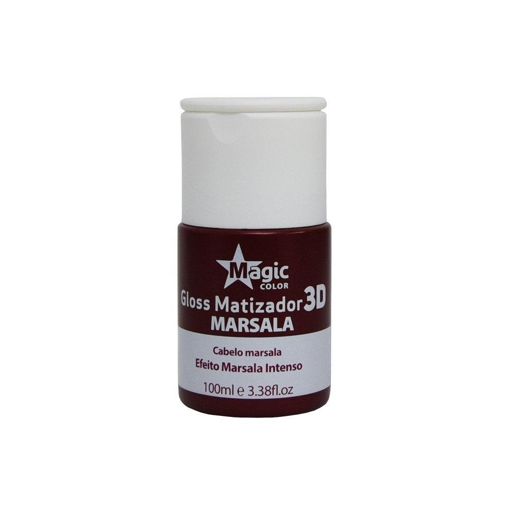 Magic Color Tonalizante Gloss Matizador 3D Marsala - 100ml