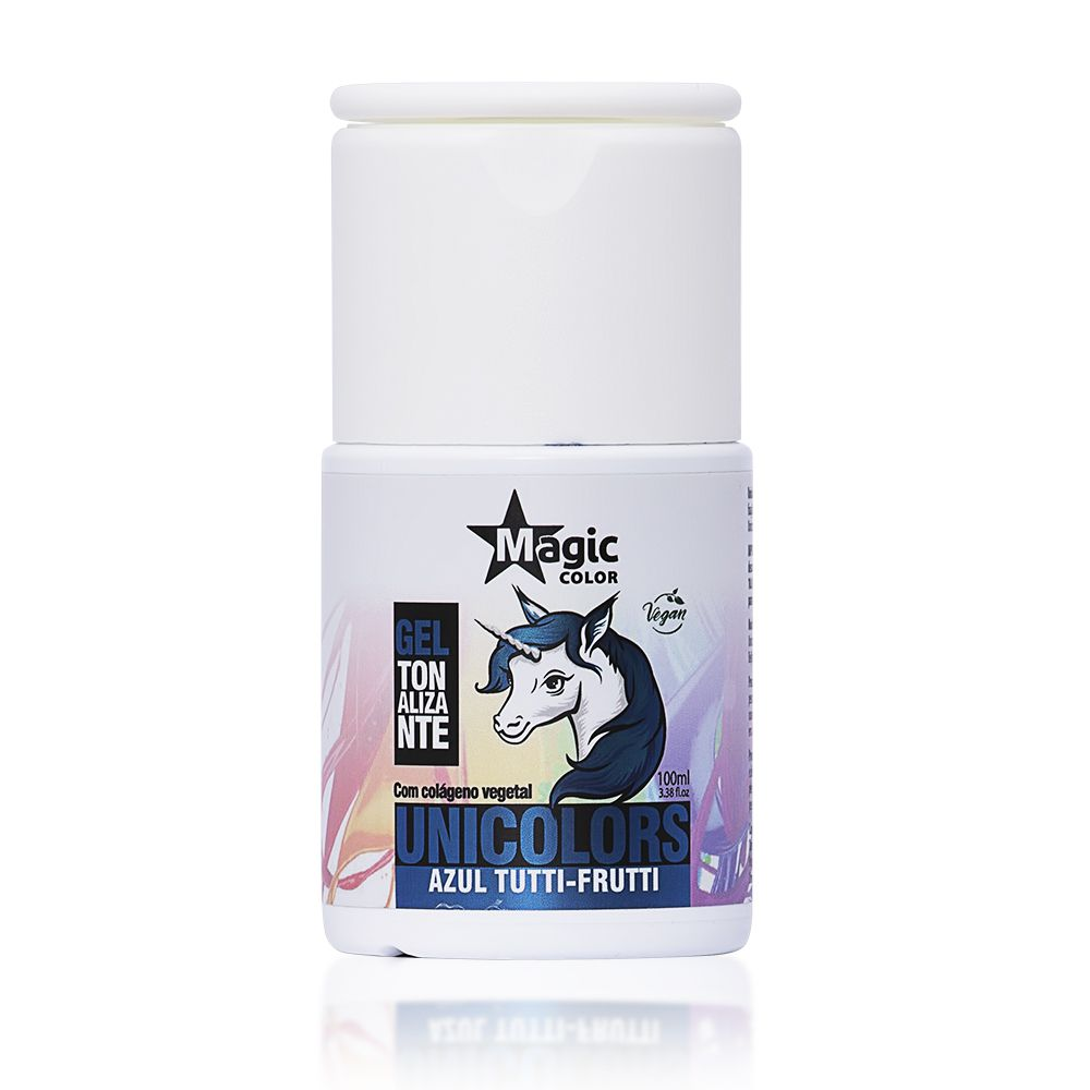 Magic Color Tonalizante Unicolors Cor Azul Tutti Frutti - 100ml