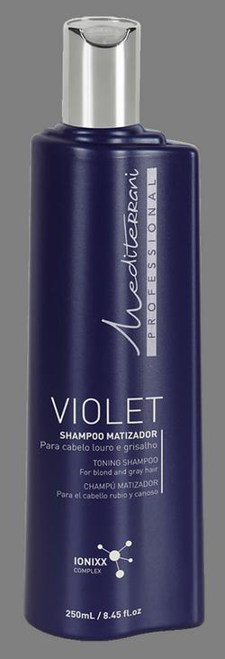 Mediterrani Shampoo Matizador Violet - 250ml