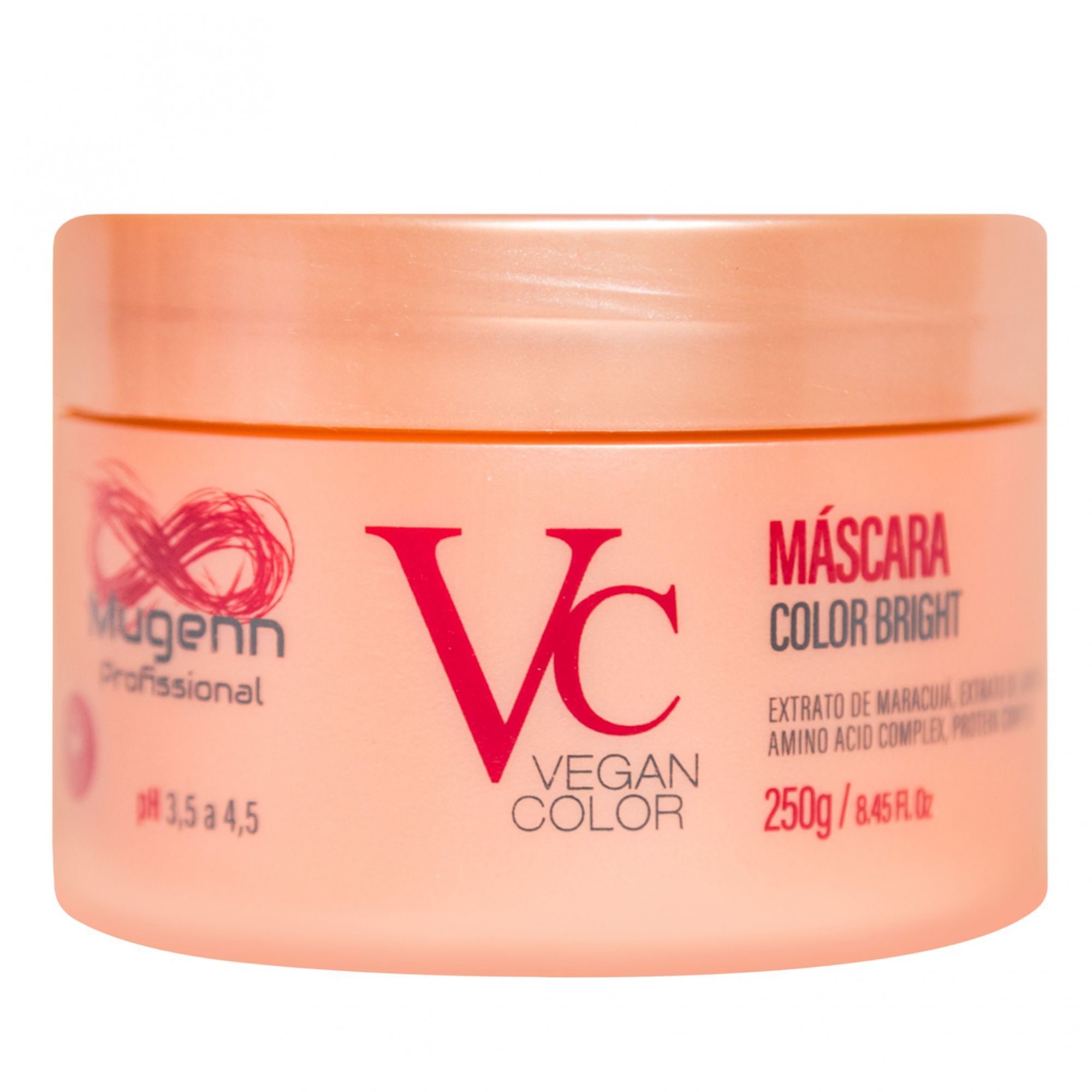 Mugenn Máscara Color Bright Vegan Color 250g