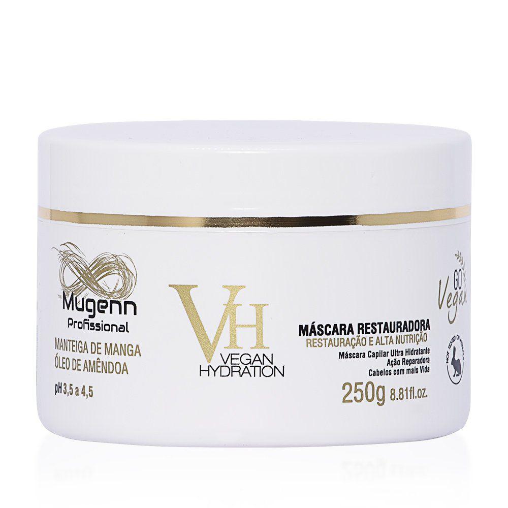 Mugenn Máscara Vegana Restauradora Vegan Hydration 250g