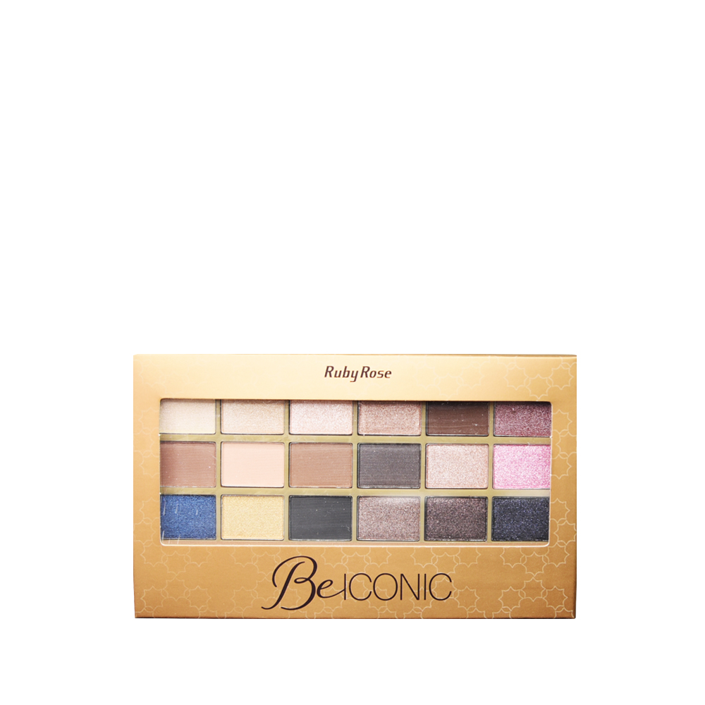 Ruby Rose Paleta De Sombras Be Iconic HB-9917