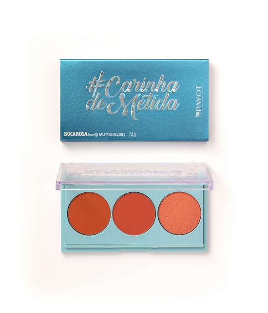 Payot Boca Rosa Beauty Paleta de Blush #carinhademetida - 7,5g