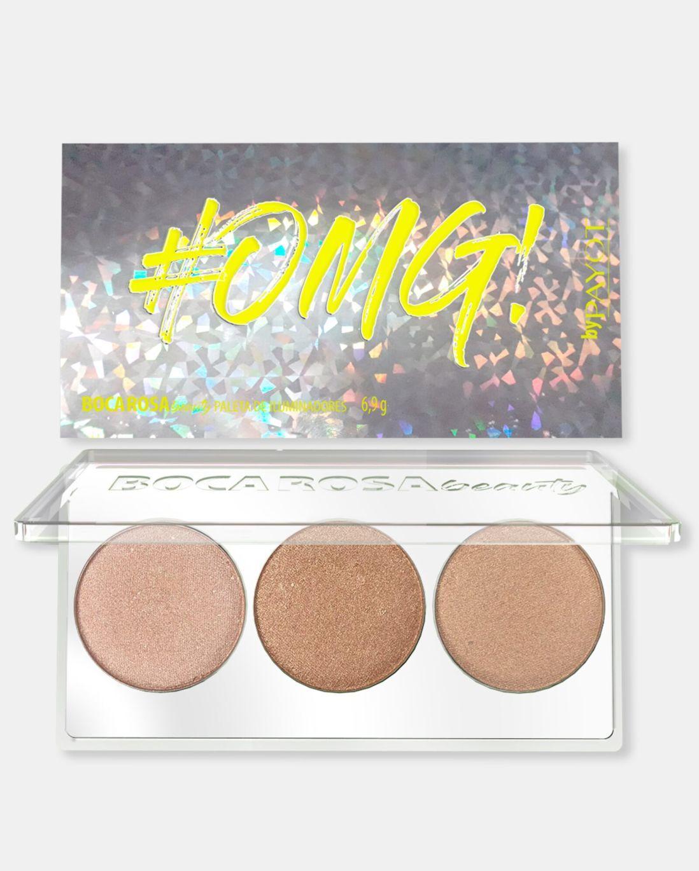 Payot Boca Rosa Beauty Paleta Iluminador #OMG! - 7,5g
