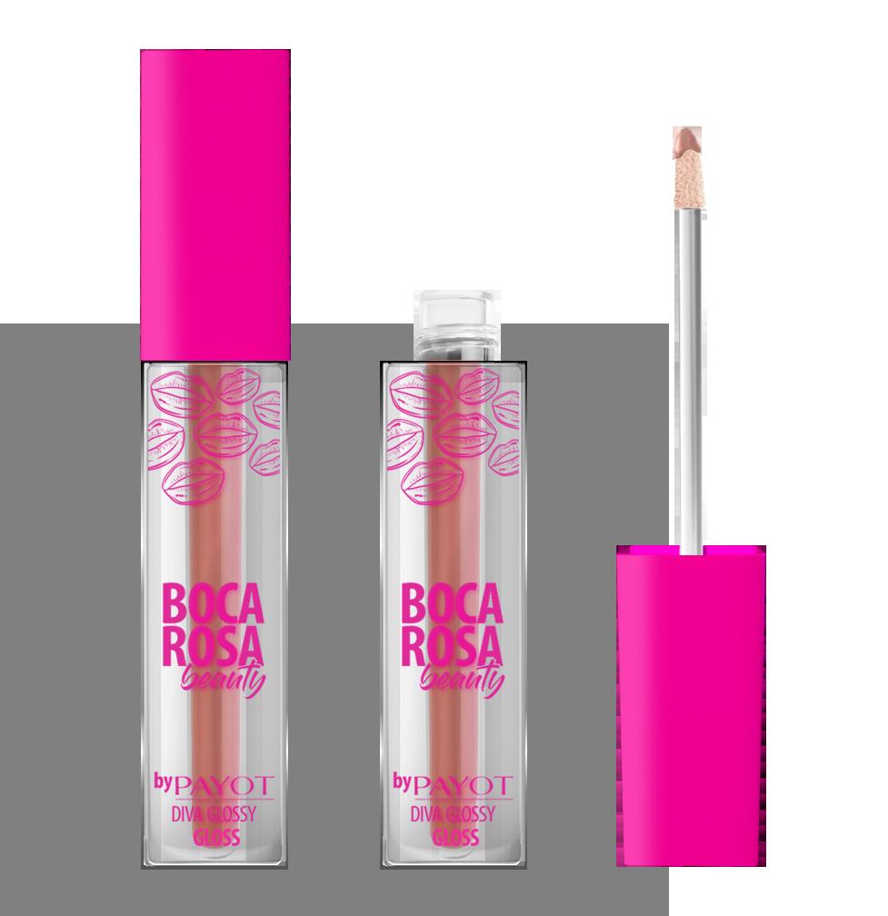 Payot Boca Rosa Gloss #divaglossy cor Ariana - 3,5g