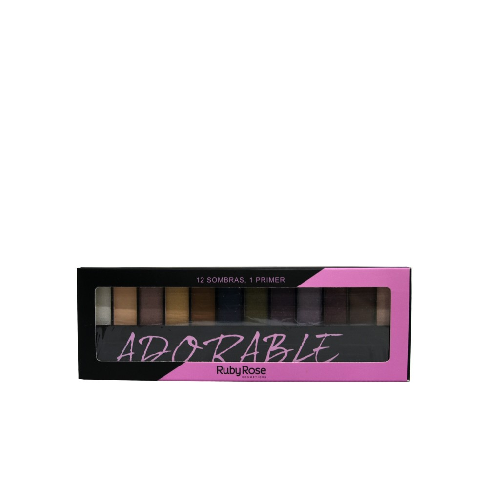 Ruby Rose Paleta de Sombras Adorable HB-9909