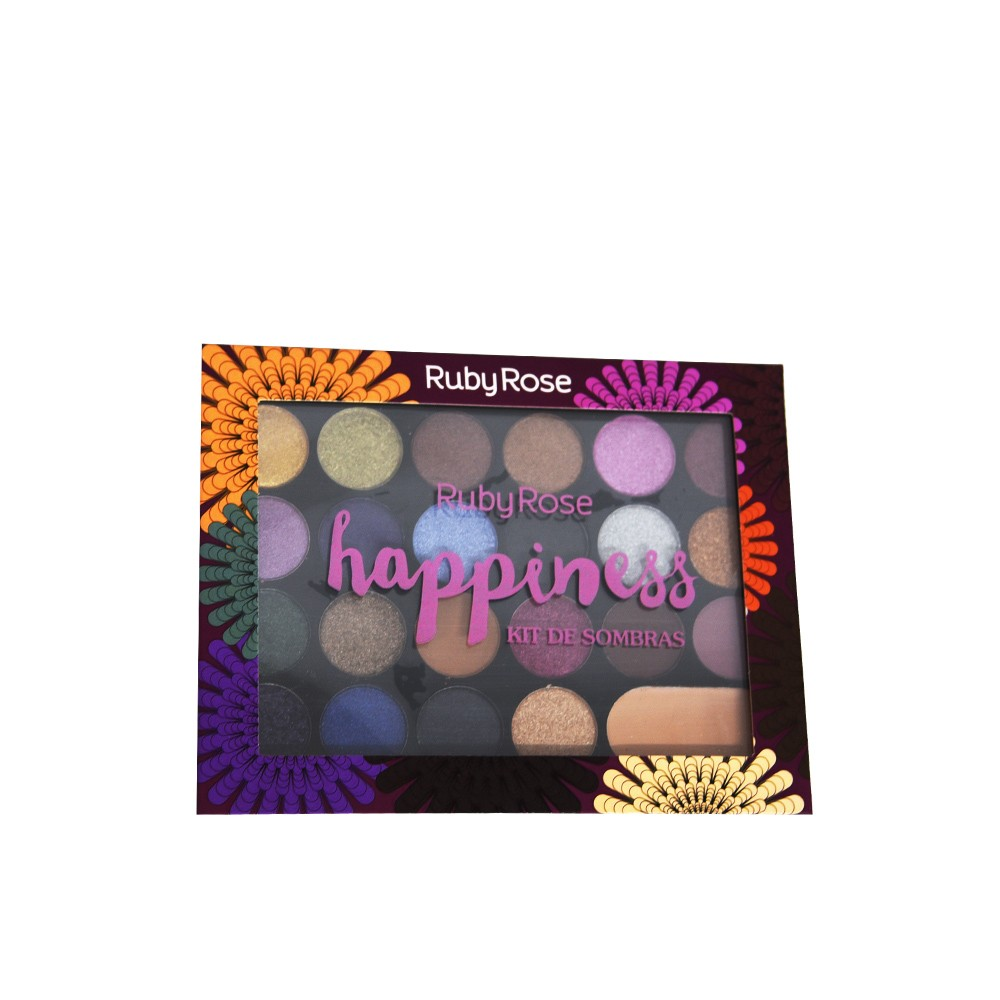 Ruby Rose Paleta de Sombras Happiness