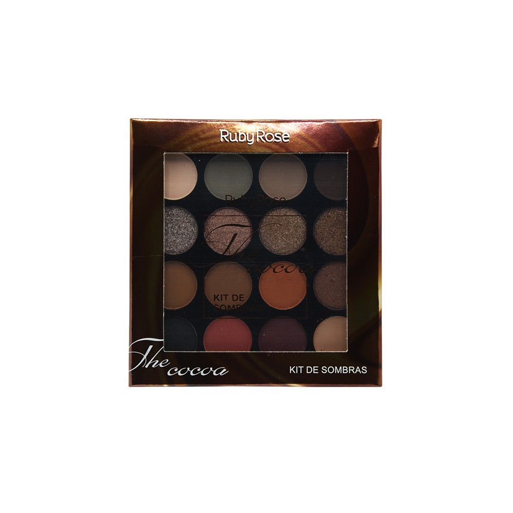Ruby Rose Paleta de Sombras The Cocoa