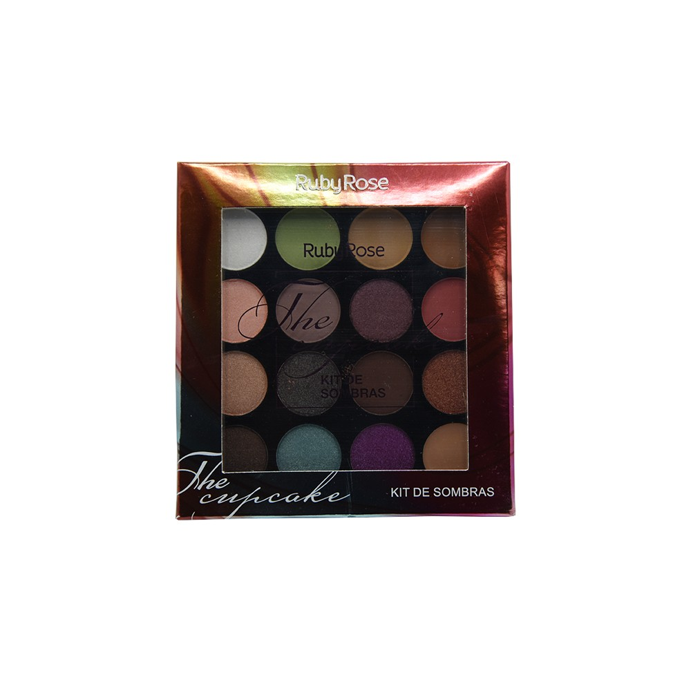Ruby Rose Paleta de Sombras The Cupcake