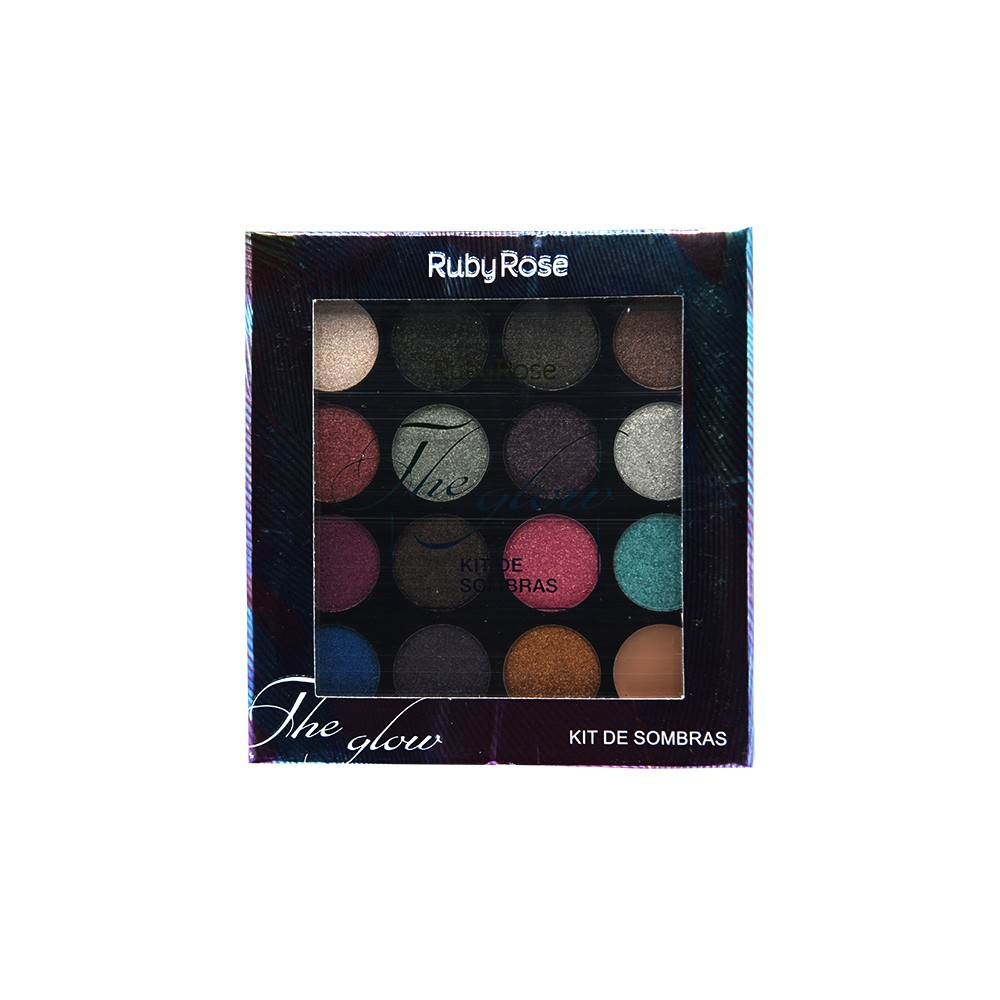 Ruby Rose Paleta de Sombras The Glow